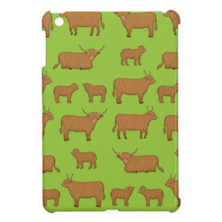 Highland Cattle iPad Mini Cases