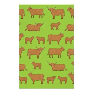 Highland Cattle Stationery