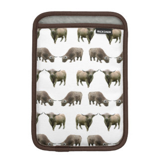 Highland Cow Frenzy iPad Mini Sleeve