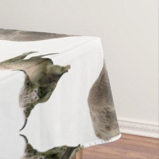 Highland Cow Frenzy Tablecloth (choose colour)