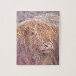 Highland Cow, Highland Cattle Jigsaw Puzzle