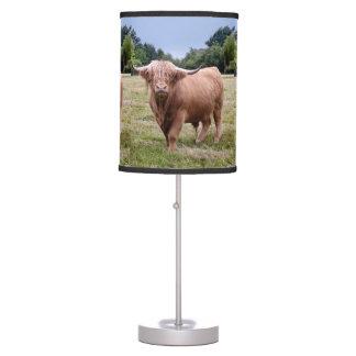 Highland Cow Lamp