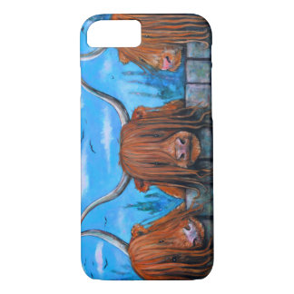 Highland cow phone cover! iPhone 7 case