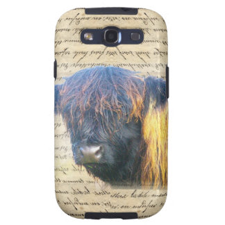 Highland cow samsung galaxy s3 covers