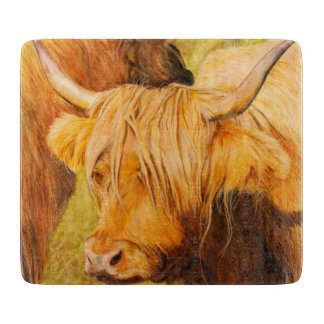 Highland cow, scottish cattle boards