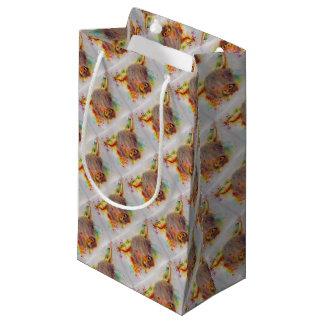 Highland Cow Small Gift Bag
