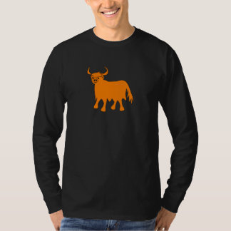 Highland Cow t shirt design