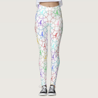 Highland Dance Multi Color Leggings
