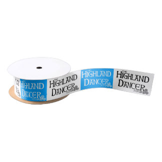 Highland Dance Ribbon Satin Ribbon