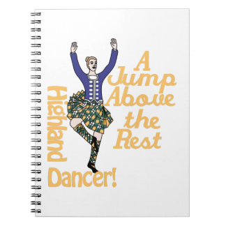 Highland Dancer2 Note Books