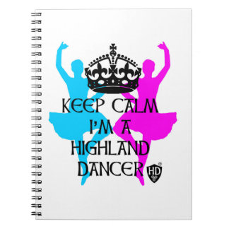 Highland Dancer Note Pad Notebook