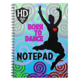 Highland Dancer Notepad #2 Notebooks