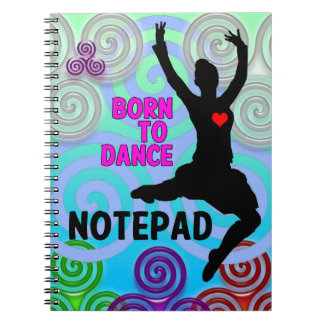 Highland Dancer Notepad Notebook
