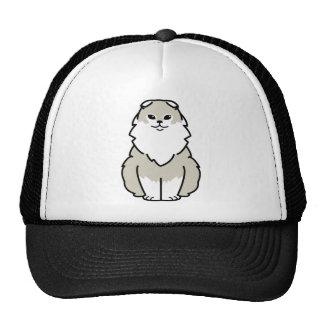 Highland Fold Cat Cartoon Trucker Hat