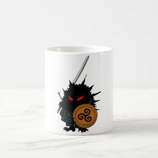 Highland Hedgehog with Claymore Sword Coffee Mug