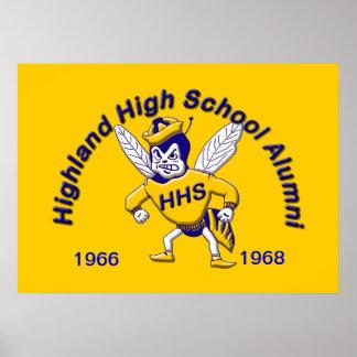 Highland Hornet Alumni Poster