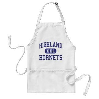 Highland - Hornets - High - Albuquerque New Mexico Adult Apron