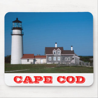 Highland Lighthouse Cape Cod Massachusetts Mousepa Mouse Pad