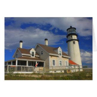 Highland Lighthouse Truro Cape Cod Card