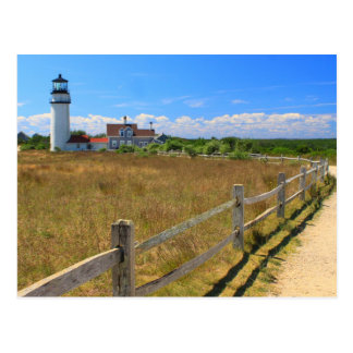 Highland Lighthouse Truro Cape Cod Postcard