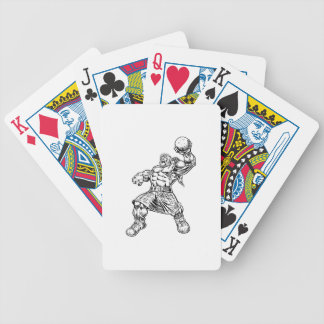 highland lion bicycle playing cards
