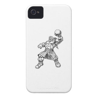 highland lion iPhone 4 case