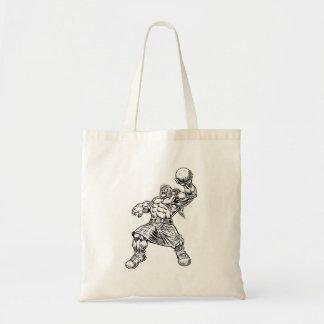 highland lion tote bag