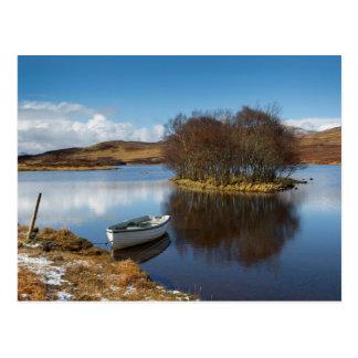 Highland Loch Postcard