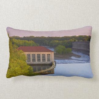Highland Park Powerhouse and Dam Lumbar Pillow