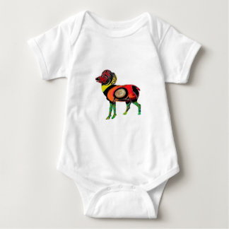 HIGHLAND PATTERNS BABY BODYSUIT