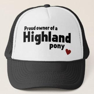Highland pony trucker hat