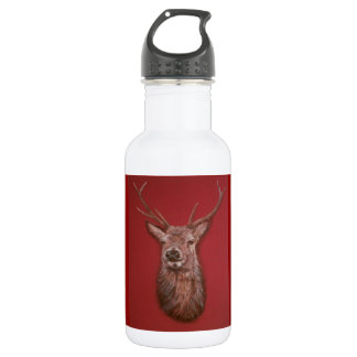 Highland Red Stag Water Bottle
