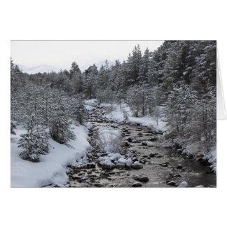 Highland River Card