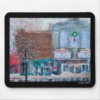 """""""Highland Square"""" mouse pad"""