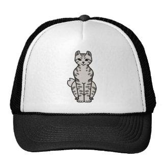 Highlander Cat Cartoon Trucker Hat