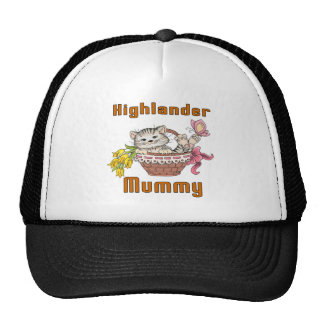 Highlander Cat Mom Trucker Hat