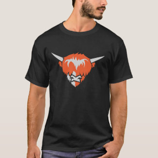 Highlander cow head t-shirt