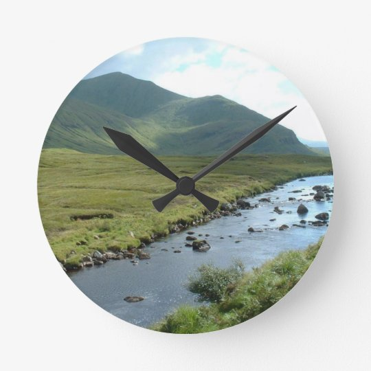 Highlands Medium Round Wall Clock