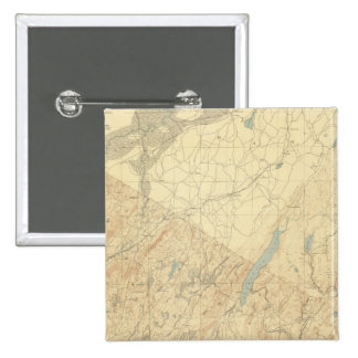Highlands of New Jersey 2 2 Inch Square Button