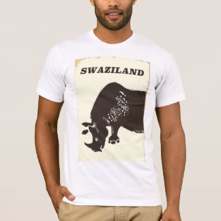 Highlands Of Scotland Stag travel poster T-Shirt