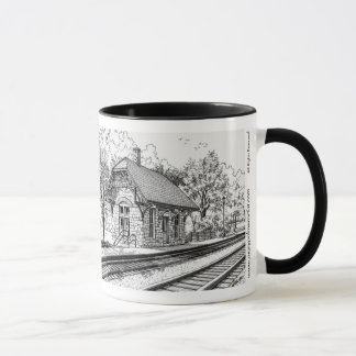 Highlands Train Station Mug