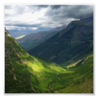Highline Trail Glacier National Park Montana Photo Print