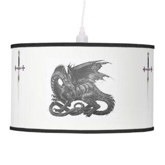 Highly Dangerass MidEvil Dragon Hanging Lamp