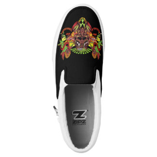 Highly Dangerass RADIOACTIVE (BLACK) Slip-On Sneakers