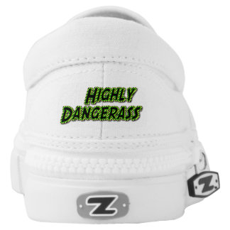 Highly Dangerass RADIOACTIVE Slip-On Sneakers