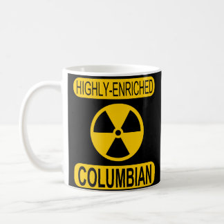Highly Enriched Columbian Coffee Mug
