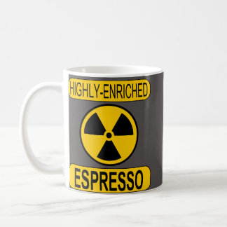 Highly-Enriched Esspresso Mug