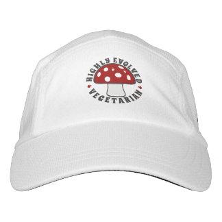 Highly Evolved Vegetarian - Eat Mushrooms! Red Hat