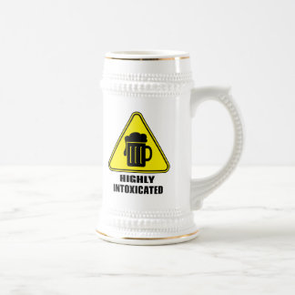 Highly Intoxicated - Drinking Humor Beer Stein