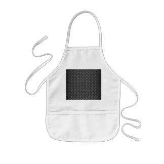 Highly Realistic Carbon Fiber Textured Kids' Apron